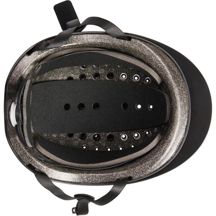 Casque d'équitation C100 noir - 1240587