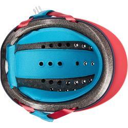 Reithelm 120 rosa/marineblau/blau