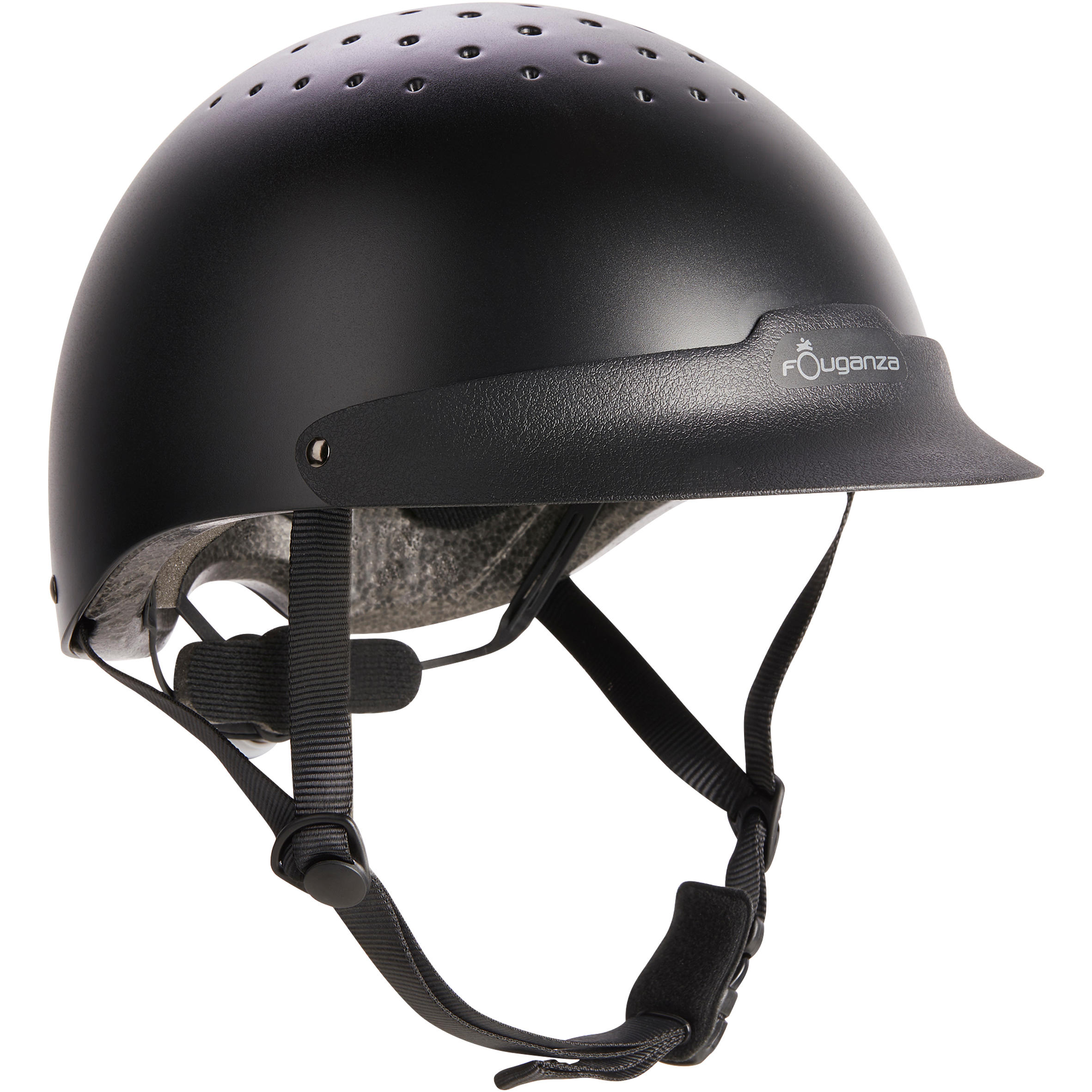 100 Horse Riding Helmet - Black