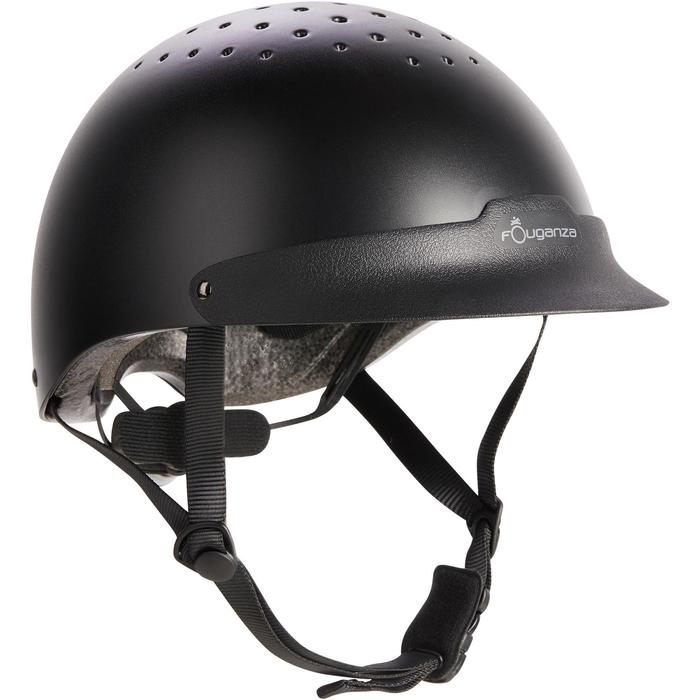 Casque d'équitation C100 noir - 1240627