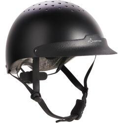 Casque d'équitation C100 noir
