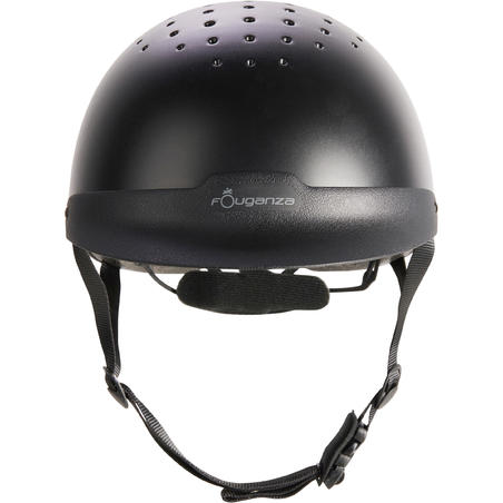 100 Horse Riding Helmet - Black