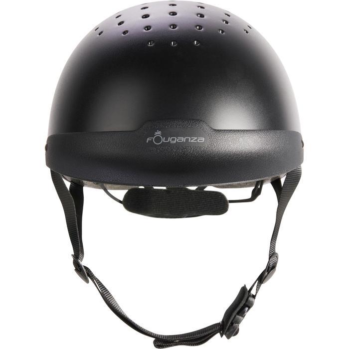 Casque d'équitation C100 noir - 1240646
