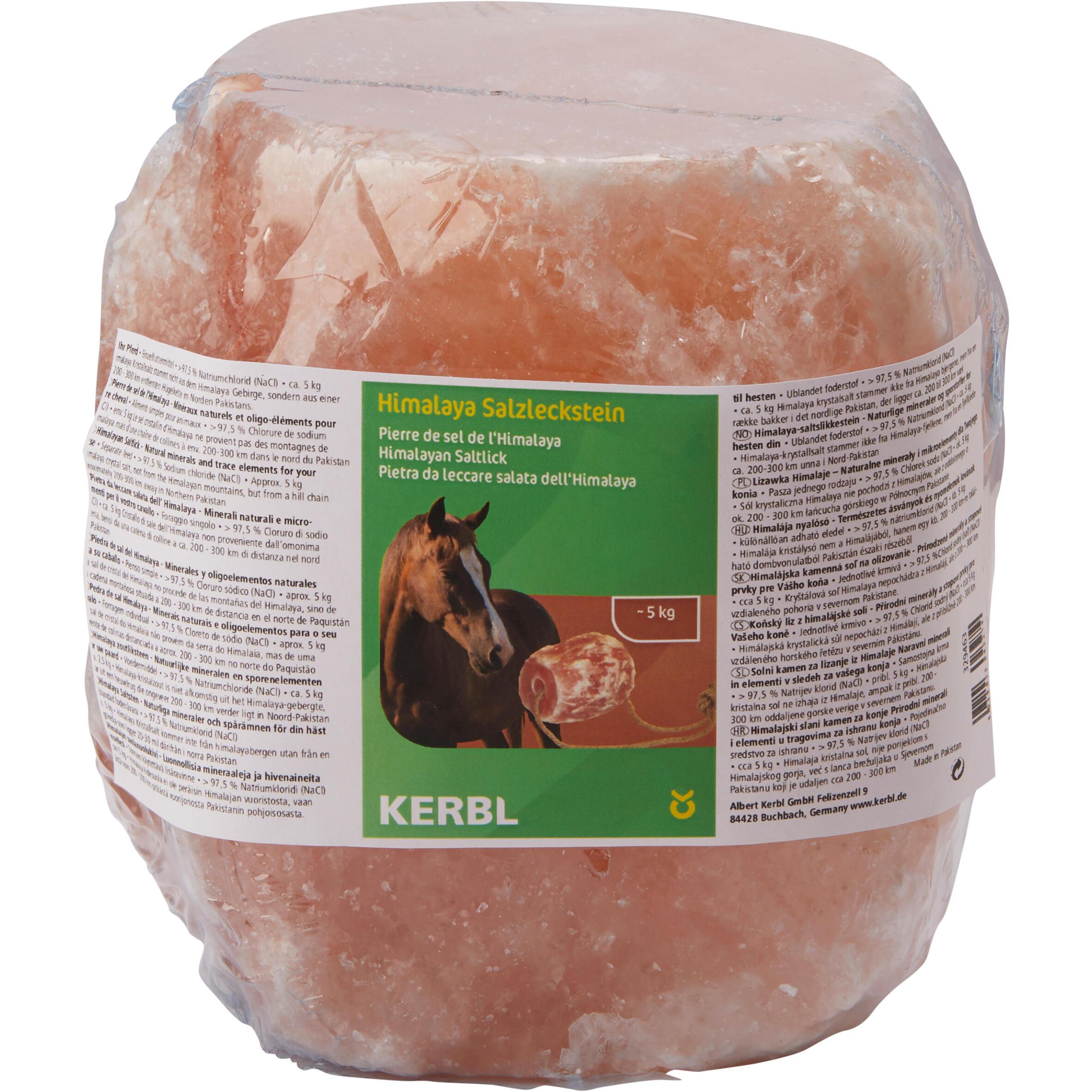 Pierre Équitation Sel À Environ 5kg Himalaya Cheval Poney Et 80kOwnP