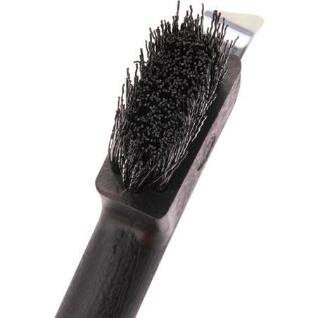 Horse Riding Hoof Pick Brush - Black