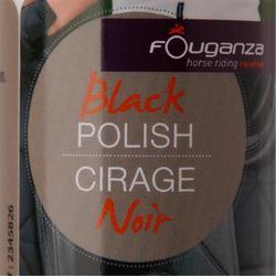 Betún para calzado equitación negro - 100 ml