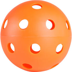 Floorball bal 100 oranje