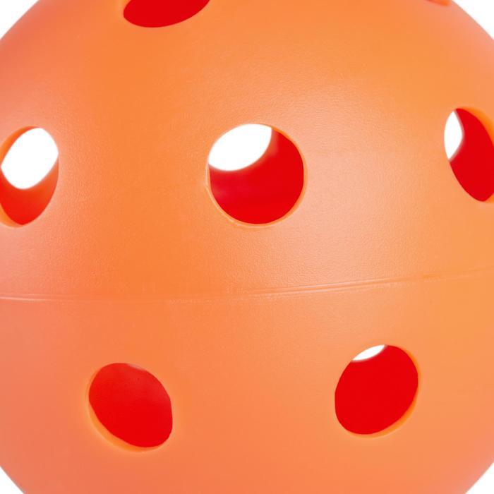 BALLE FLOORBALL 100  VANILLE - 1240685