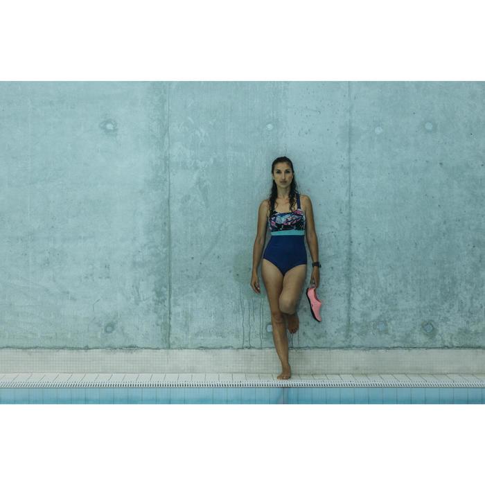 Maillot d'aquabike femme une pièce résistant au chlore Anna - 1240934