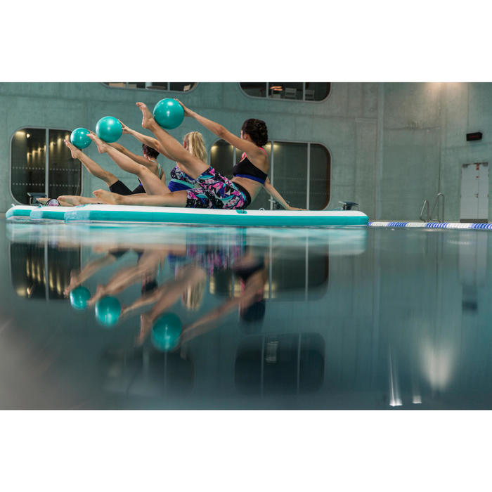 Badeanzug Aquagym Jammer chlorresistent Anna Damen schwarz/blau