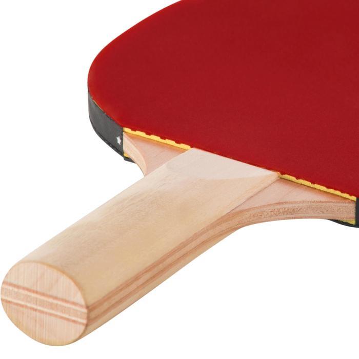 SET TENNIS DE TABLE FREE DE 2 RAQUETTES PPR 100 SMALL ET 3 BALLES - 1241070
