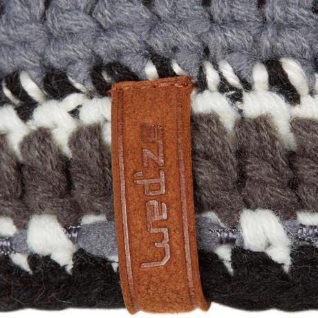 bandeau de ski adulte mixyarn noir blanc wedze. Black Bedroom Furniture Sets. Home Design Ideas