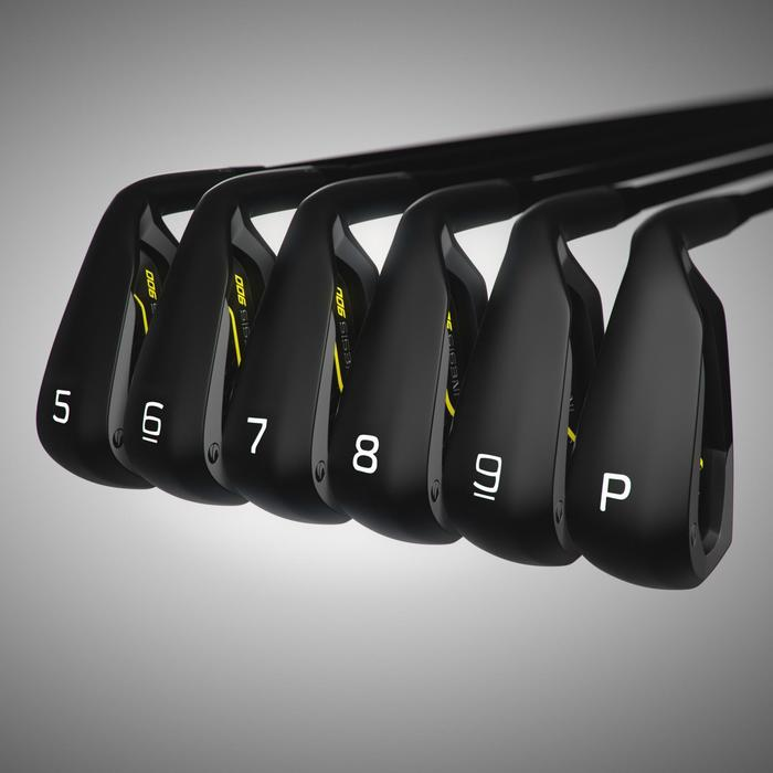 Golfclubs set irons voor heren 900 5/PW grafiet rechtshandig