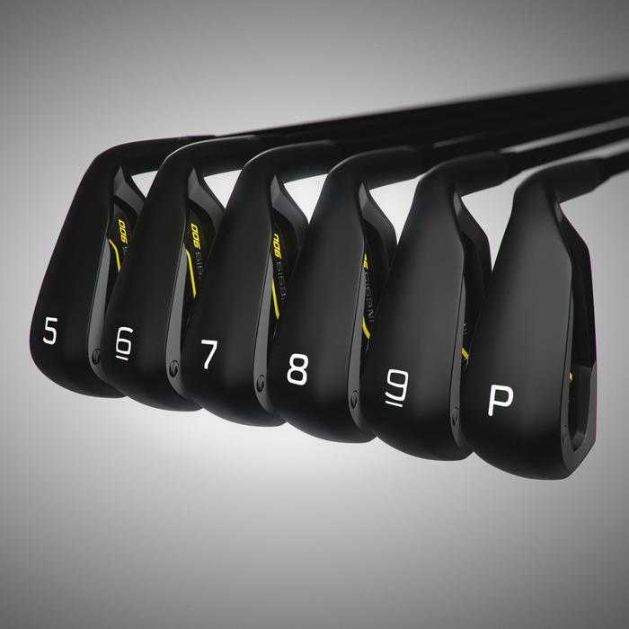 Série de fers golf homme droitier 900 5/PW graphite R - 1241808