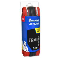 Raceband Lithion 3 rood 700X23 vouwband / ETRTO 23-622