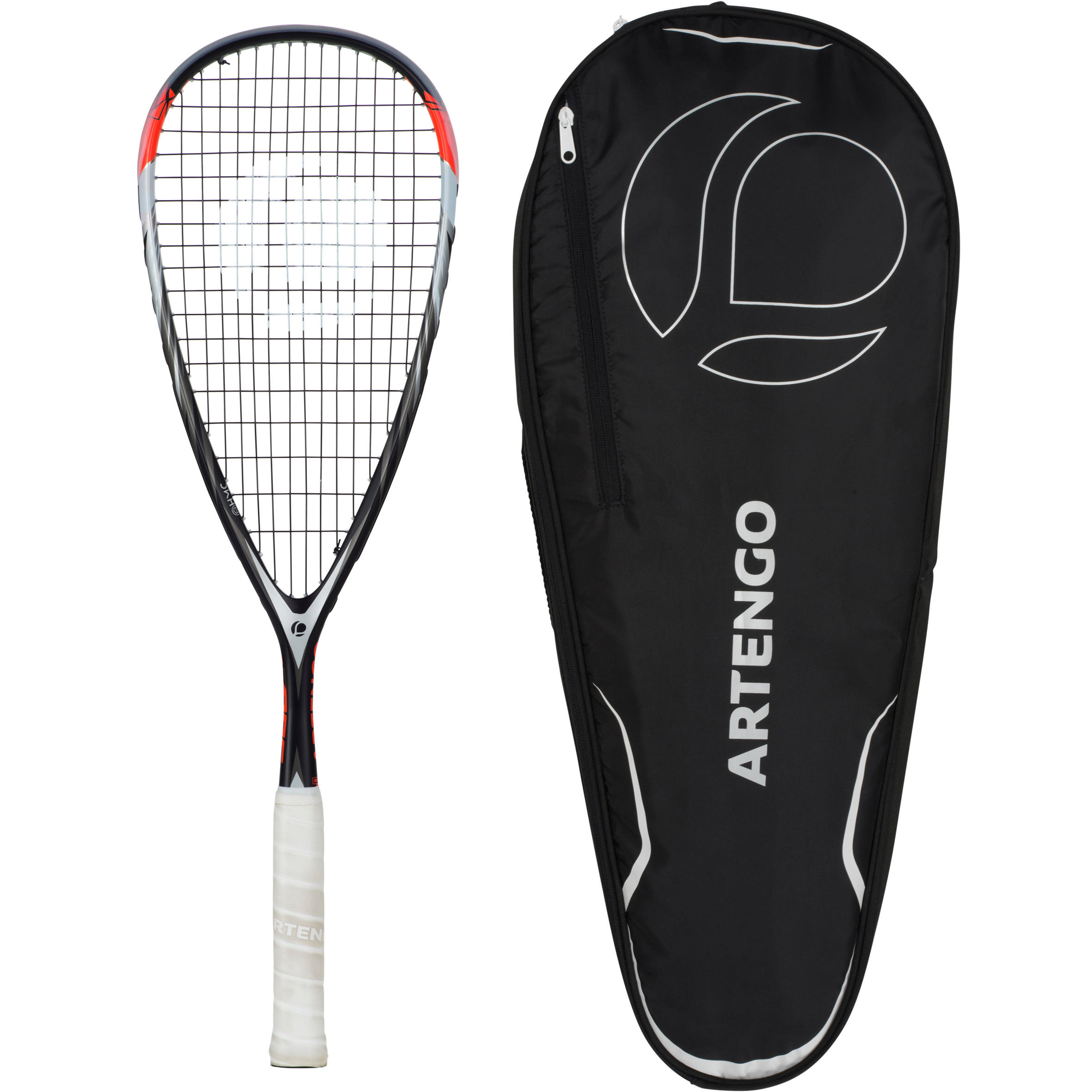 Artengo Set squashracket SR 560 (racket SR 560 en tas voor 3 rackets)