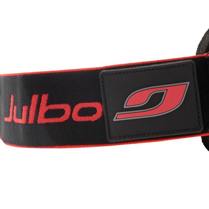 Skibril en snowboardbril Airflux mooi weer zwart/rood