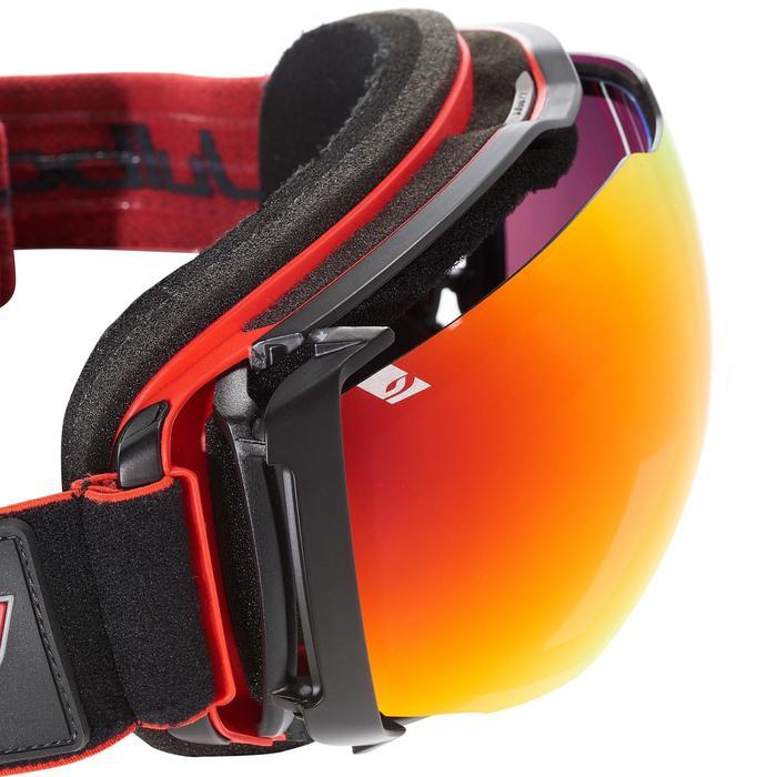 MASQUE DE SKI ET DE SNOWBOARD HOMME JULBO AIRFLUX BEAU TEMPS NOIR/ROUGE - 1242029