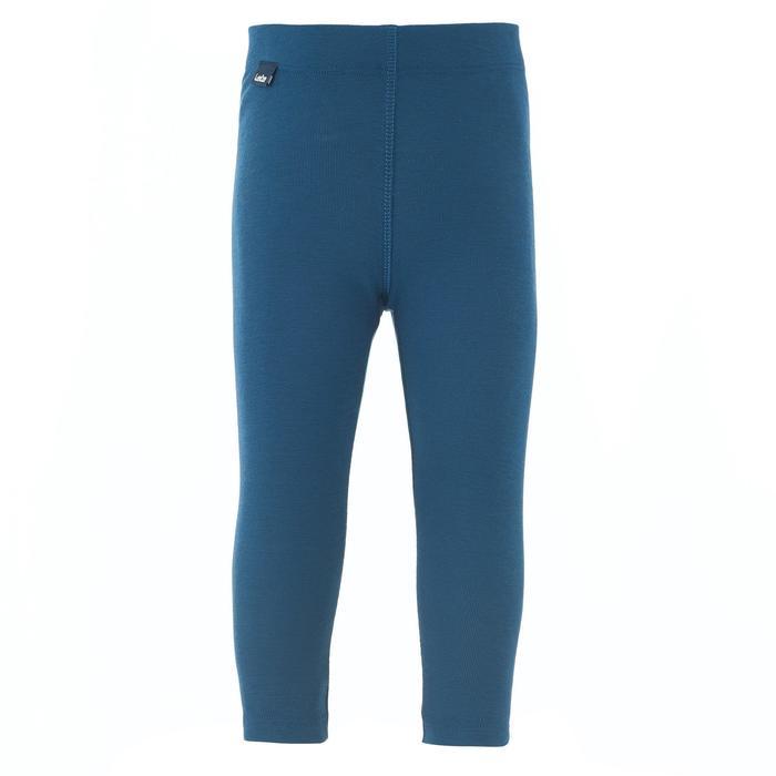 嬰幼兒滑雪/雪橇底層長褲Simple Warm - 軍藍色