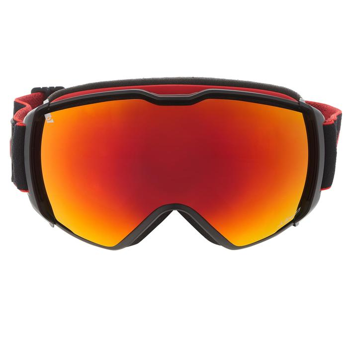 MASQUE DE SKI ET DE SNOWBOARD HOMME JULBO AIRFLUX BEAU TEMPS NOIR/ROUGE - 1242043