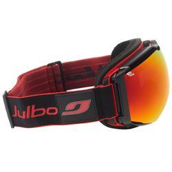 Ski- en snowboardbril voor heren Julbo Airflux zonnig weer zwart/rood
