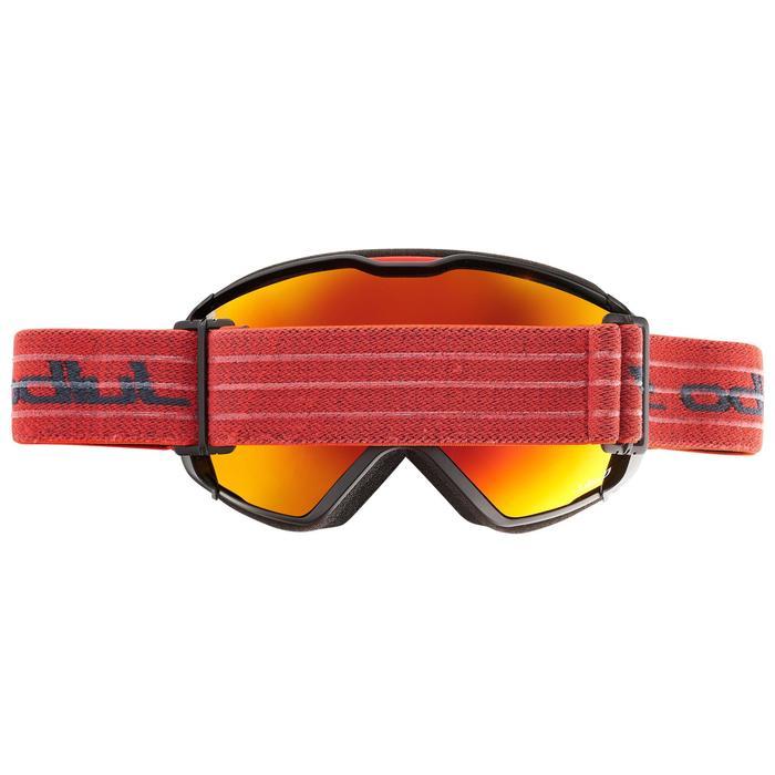 MASQUE DE SKI ET DE SNOWBOARD HOMME JULBO AIRFLUX BEAU TEMPS NOIR/ROUGE - 1242047