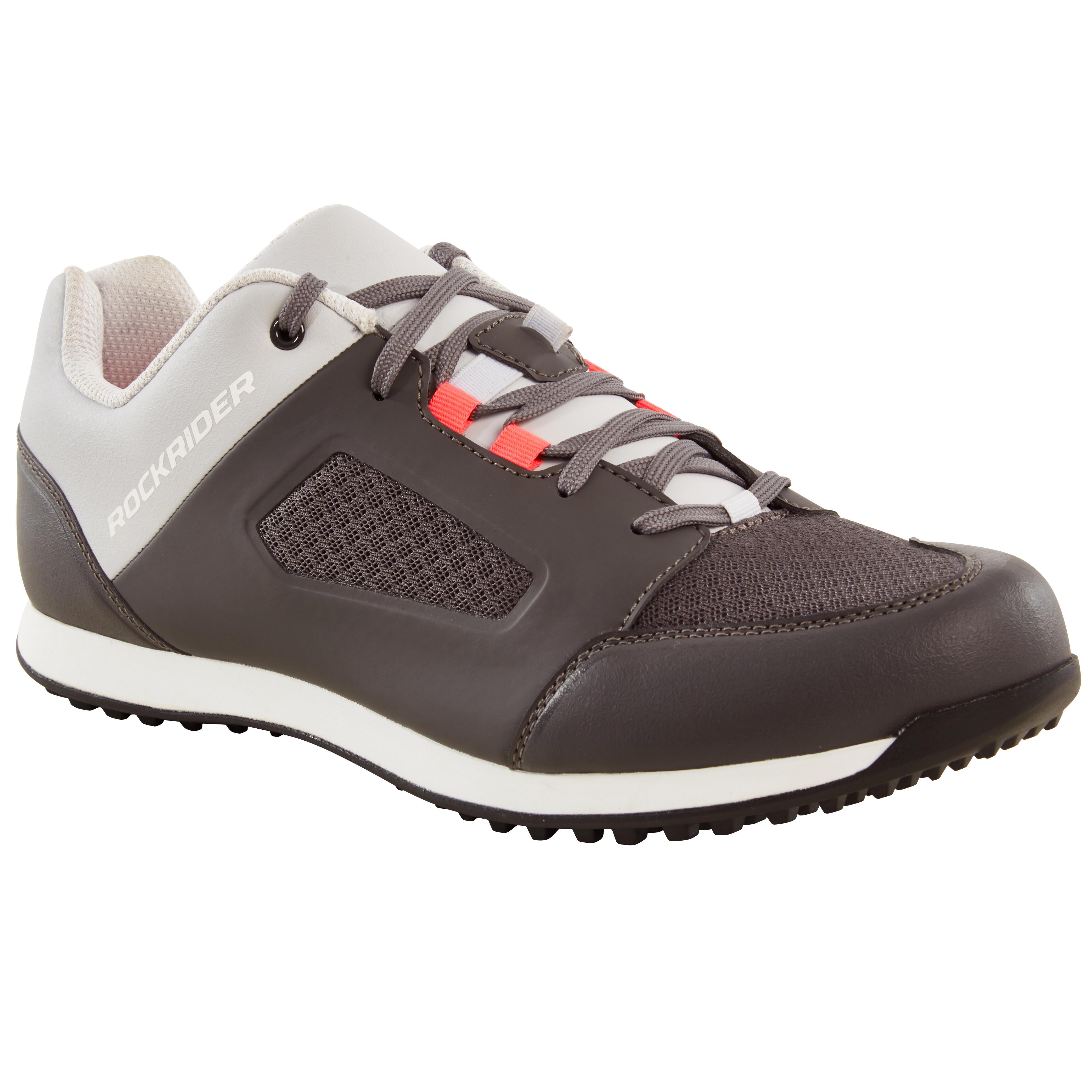 Fahrradschuhe MTB ST 100 grau | Schuhe > Sportschuhe > Fahrradschuhe | Grau - Weiß | St | Rockrider