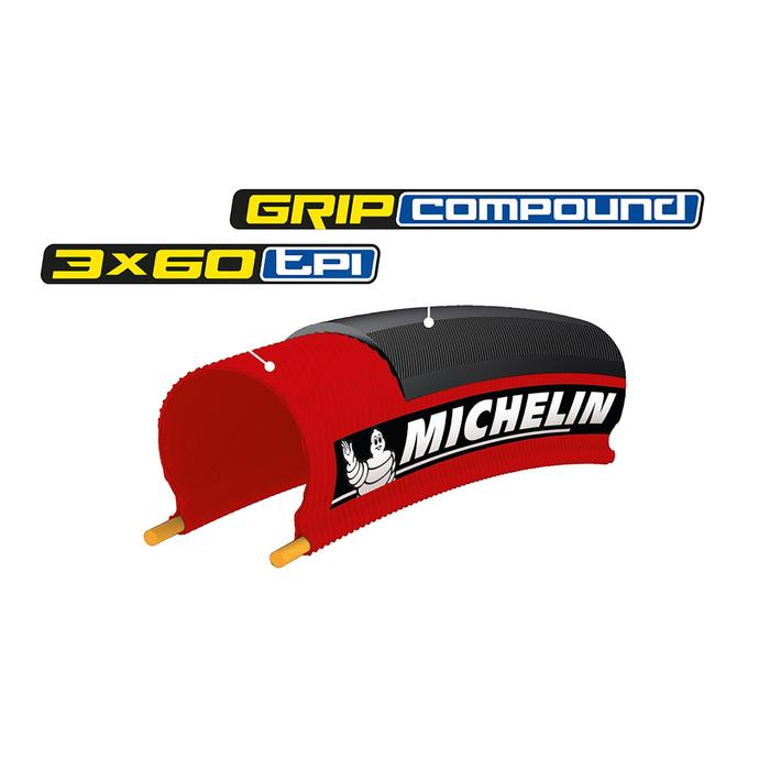 Raceband Lithion 3 rood 700x25 vouwband / ETRTO 25-622