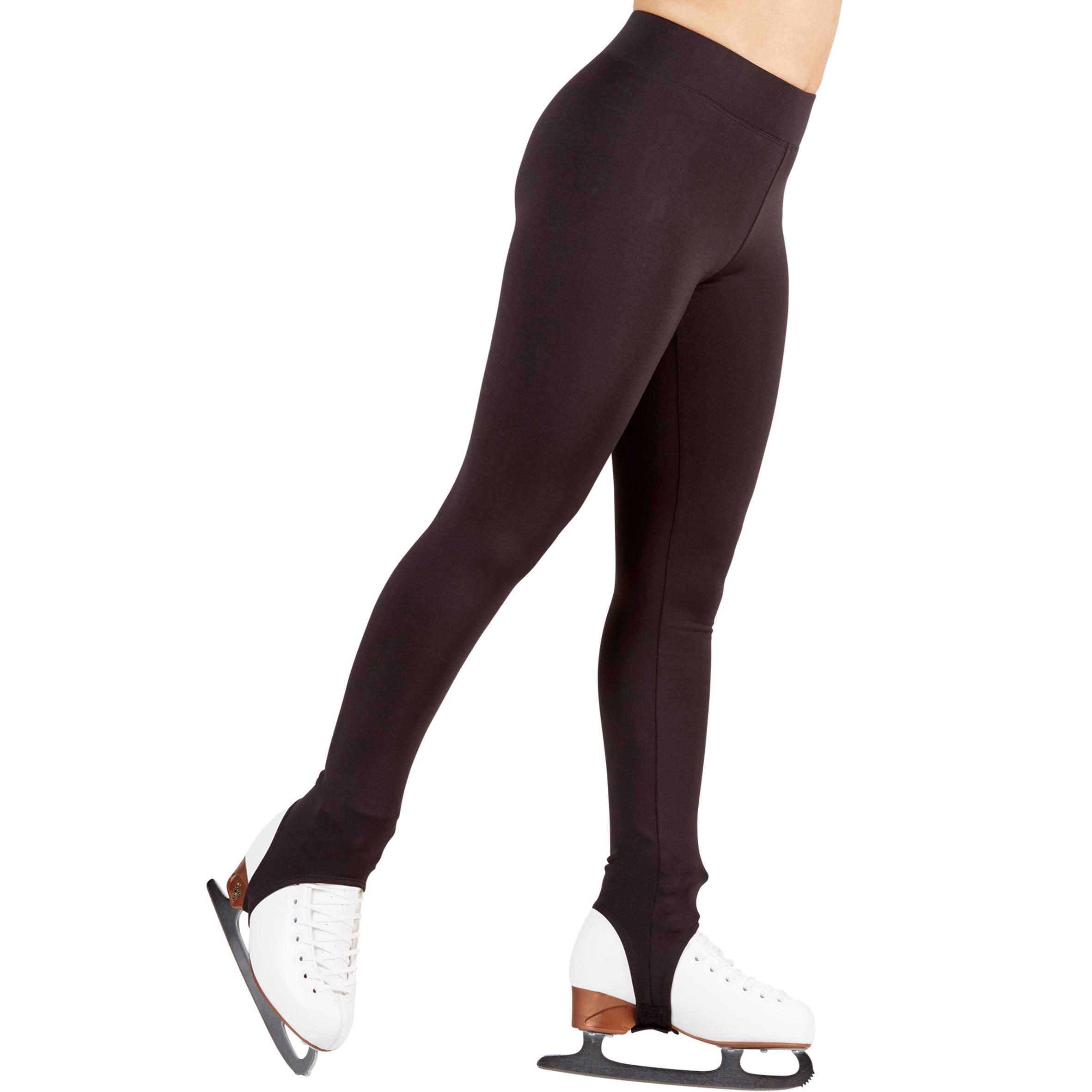 Adult Figure Skating Training Bottoms - Black