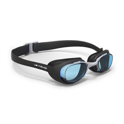 نظارات سباحة XBASE مقاس L - سوداء