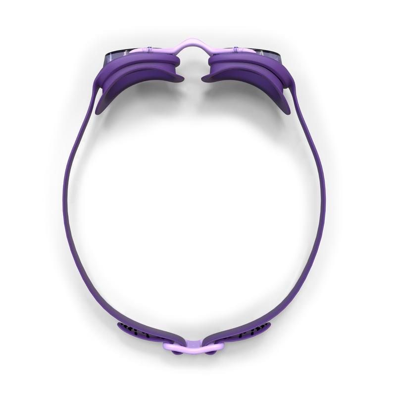 Lunettes de natation 100 XBASE Taille L violet