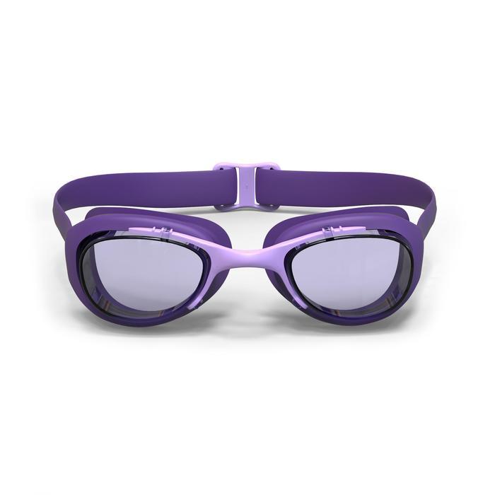 Schwimmbrille 100 XBase L violett