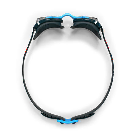 Goggles de Natación 100 Xbase Print Mika Azul Talla L