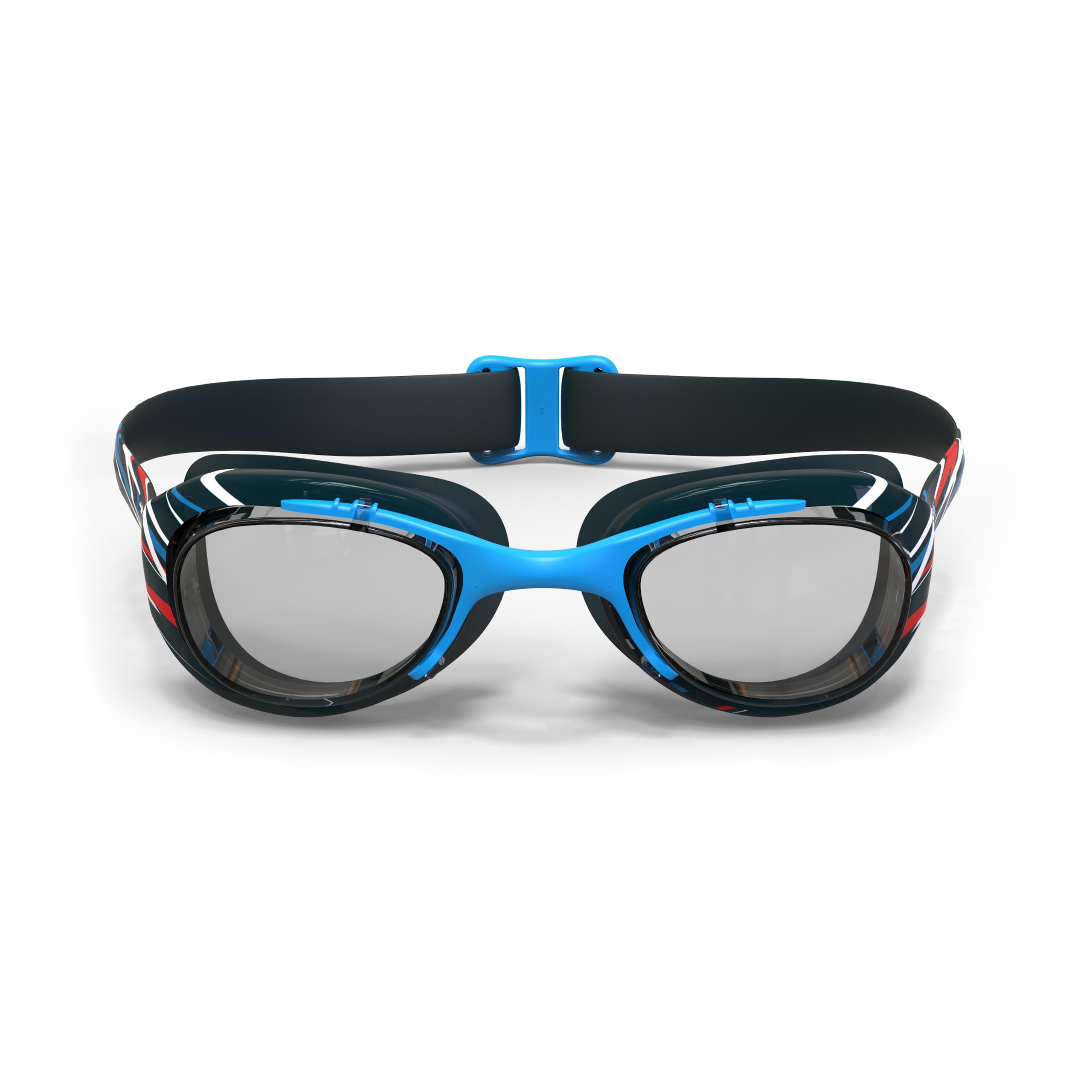 Lunettes de natation XBASE MOTIF Mika bleu Taille G