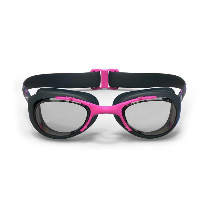 Gafas Natación Piscina Nabaiji 100 Adulto Rosa Entrenamiento Antivaho Aquagym
