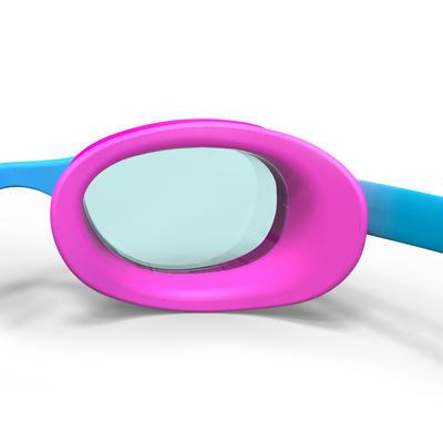 نظارات سباحة Xbase Print مقاس S - أزرق وردي مموه