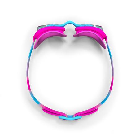 Goggles de Natación 100 Xbase Dye Rosa Azul Talla S