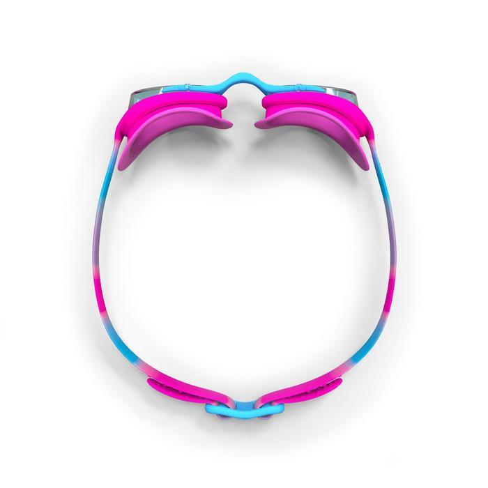 Schwimmbrille 100 XBase Größe S Dye rosa/blau