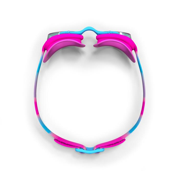 Zwembril XBASE 100 maat S Dye roze/blauw