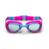 Gafas de Natación 100 Xbase Dye Talla S Rosado Azul