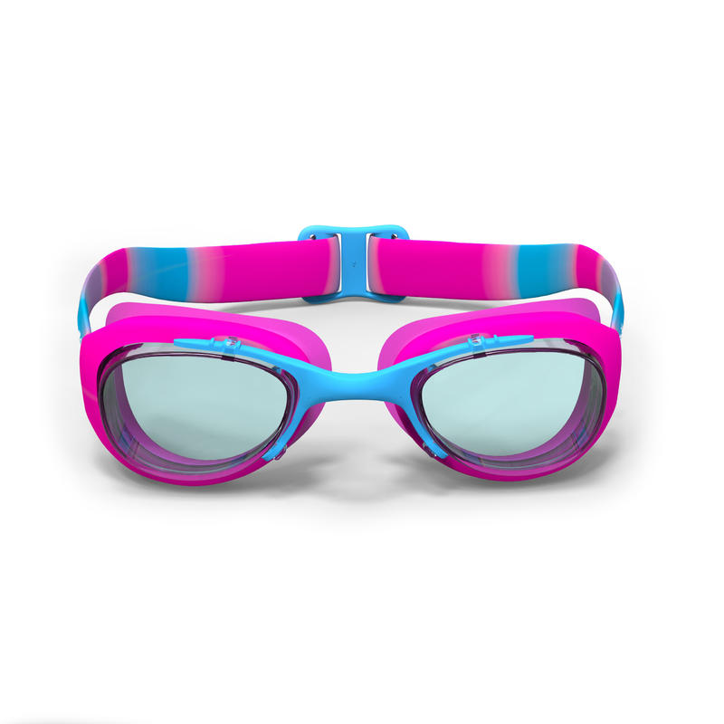 SWIMMING GOGGLES XBASE SIZE SMALL PRINTED PINK BLUE