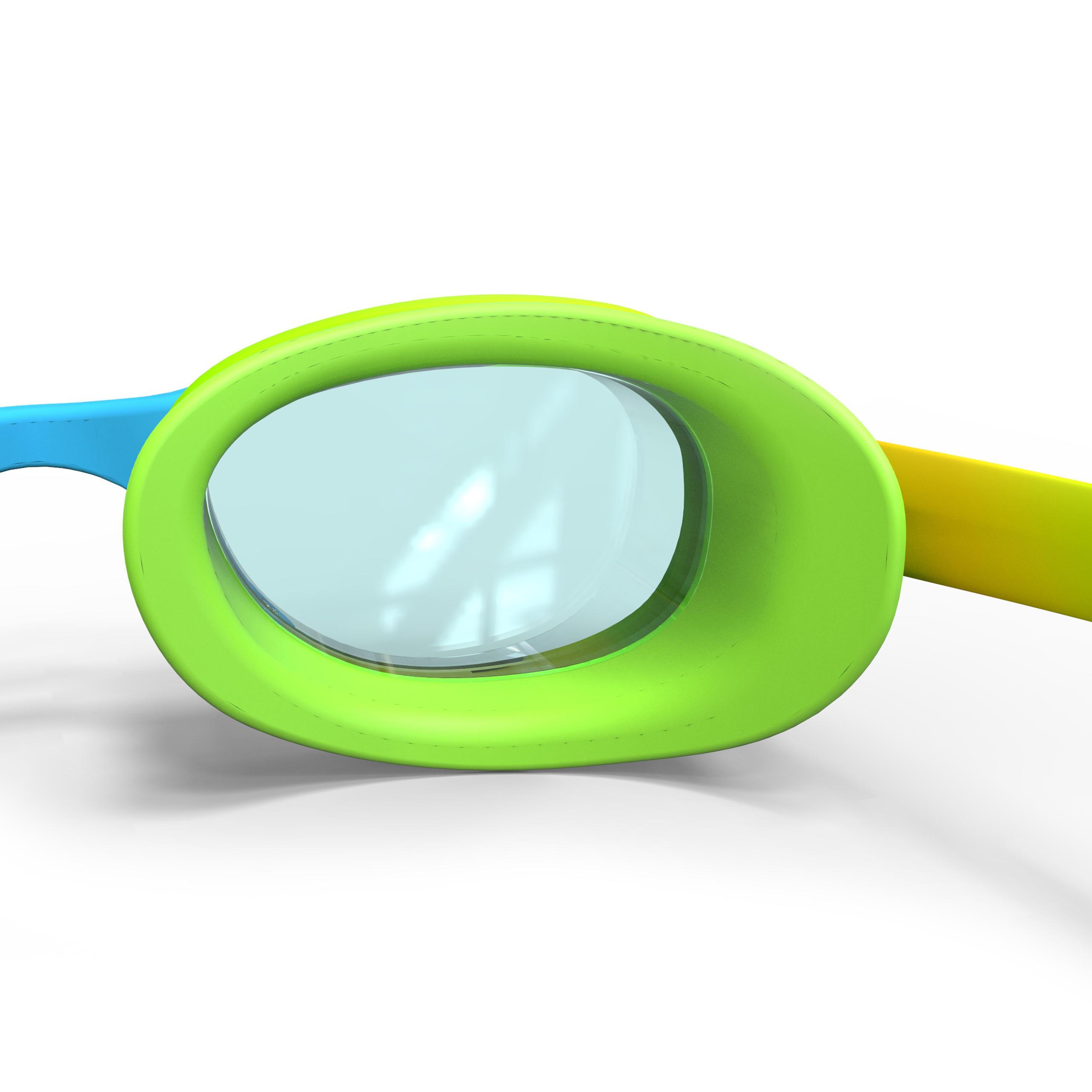 Xbase Print Swimming Goggles Size S - Dye Green