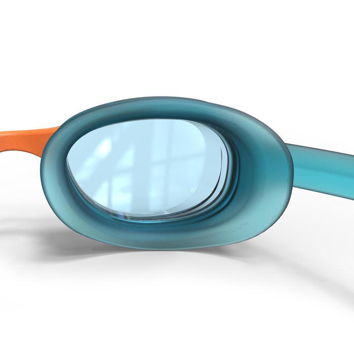 XBASE swimming goggles size S - blue orange