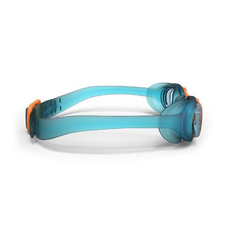 100 XBASE Swimming Goggles, Size S Blue Orange