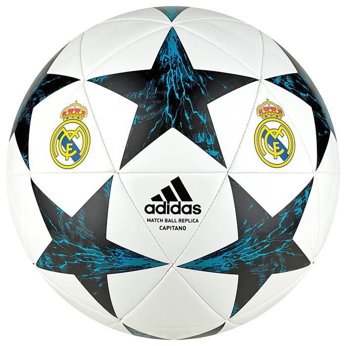Ballon réplique de football Real Madrid blanc - 1242616
