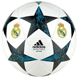 Ballon réplique de football Real Madrid blanc