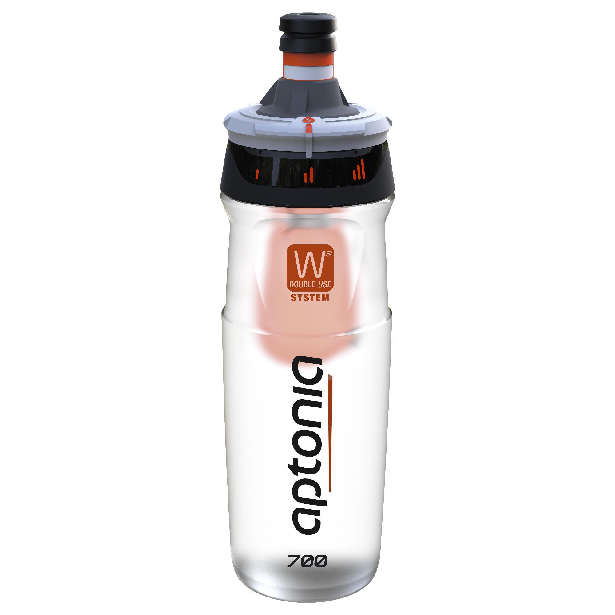 Double Use Bottle 700ml Black