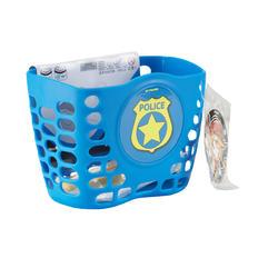 Police Bike Basket with Extra Stickers