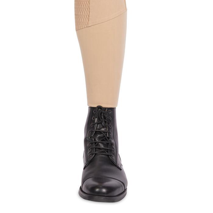 Fullgrip馬術馬褲580含矽膠臀部 - 米色