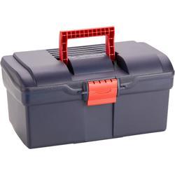 Verzorgingsbox ruitersport GB 300 marineblauw en rood